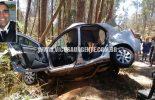 Motorista morre, esposa e filha ficam feridas em acidente perto da Piúna.
