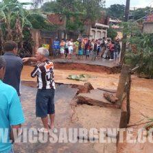 Chuva castiga cidades da região