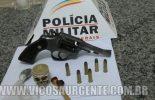 Homem é preso com arma de fogo no Morada do Sol