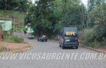 Dores do Turvo: Suspeito morre durante troca de tiros com a PM