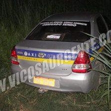 Polícia Militar recupera Táxi roubado