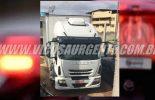 Caminhão roubado com carga avaliada em 600 mil, é encontrado vazio em Viçosa