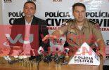 Delegado regional e Major da PM falam da operação conjunta em Cajuri