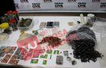 Polícia civil prende estudantes da UFV por tráfico de drogas sintéticas, maconha e cocaína.