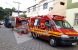 Pedreiro cai de telhado de cinco metros no Fátima