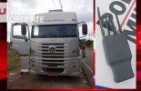Carreta roubada em Barbacena é recuperada pela PM de Viçosa