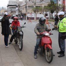 Diretran promove blitz educativa de trânsito para motociclistas