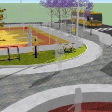 Prefeitura apresenta projetos de reforma e construção de praças e anuncia obras de abastecimento