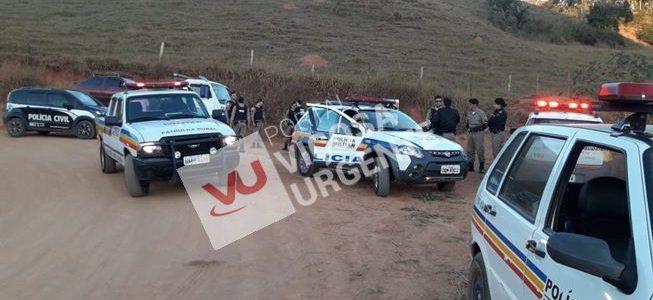 Suspeitos que roubavam linha férrea na Paula são presos em flagrante