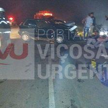 Adolescente morre em acidente na MG-447 em Visconde do Rio Branco