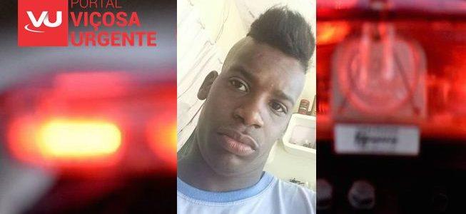 Jovem é morto a tiros em Ponte Nova