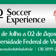 7º Soccer Experience começa nesse sábado 21/07