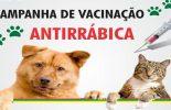 Vacinação antirrábica no sábado