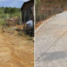 Programa Construindo a Liberdade viabilizou 11 mil m² de pavimentação em Viçosa