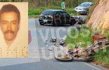Motoqueiro morre em acidente na saída de Canaã