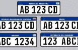 Presidente do STJ libera adoção de placas de veículos do Mercosul