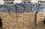 Polícia Civil: quadrilha é presa com uma tonelada de maconha
