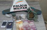 Suspeitos são presos com drogas na Barrinha