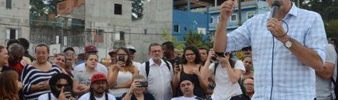 Haddad visita Cohab em SP e promete construir 500 mil casas por ano