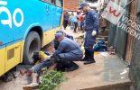 Pedestre embriagado cai e morre atingido por ônibus no Nova Era