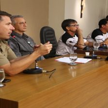Câmara recebe Major da Policia Militar