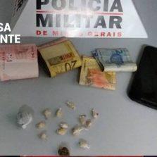 Adolescente é apreendido com drogas no bairro São Sebastião
