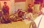 PM de Ervália localiza moto de trilha roubada em Coimbra