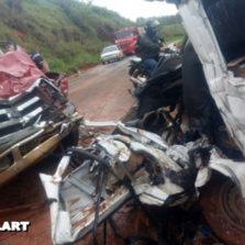 Motorista morre em acidente na rodovia Guiricema/Visconde do Rio Branco