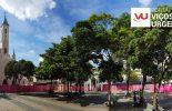Iniciada a reforma da Praça Silviano Brandão