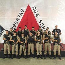 Policiais Militares de Viçosa participam do curso de Tático Móvel