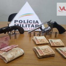 Viçosense é preso por roubo em agência dos correios em Lamin