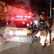 Pedestre é atropelado em cima da faixa por motorista embriagado