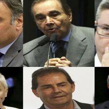 Senadores e deputados federais são alvos de operação da PF