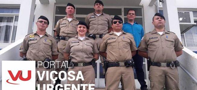 Policiais Militares de Viçosa são promovidos