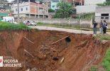Prefeitura inicia obra de contenção na rua Assad Nazar, no bairro Nova Viçosa