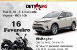 Leilão de veiculos apreendidos acontece hoje no Auto Socorro João Rossi