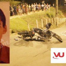 Motoqueiro morre em acidente em Cajuri