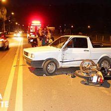 Inabilitado provoca acidente na Br120 em Novo Silvestre