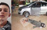 Identificado assaltante morto por policial em Cajuri