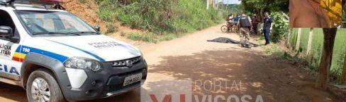 Homem de 43 anos é assassinado no Córrego dos Barros