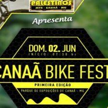 Vem ai Canaã Bike Fest, faça a sua inscrição