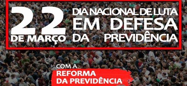 Sexta é dia de mobilização contra a reforma da Previdência: confira programação em Viçosa
