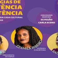Filósofa Djamila Ribeiro participa de evento em Viçosa sobre luta e resistência das mulheres negras