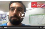 Gari se fere com cacos de vidro e prefeito posta vídeo orientando moradores