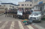 Polícia Militar de Viçosa e Coimbra prende suspeitos com envolvimento em explosão de caixas eletrônico