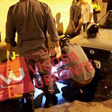 Skatista é atropelado por moto no Fátima