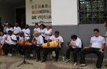 Programa Marcelo Andrade recebe apresentação musical da APAE