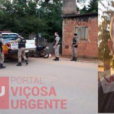 Notícia completa homem é assassinado no bairro Barrinha