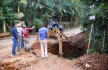 Prefeitura reconstrói rede de drenagem no Inácio Martins