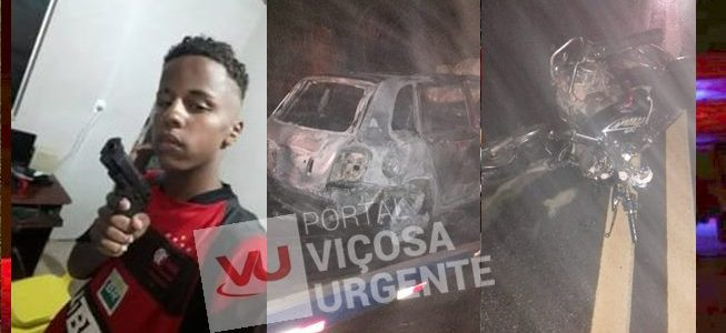 Adolescente que pilotava moto roubada morre em acidente na Serra de São Geraldo